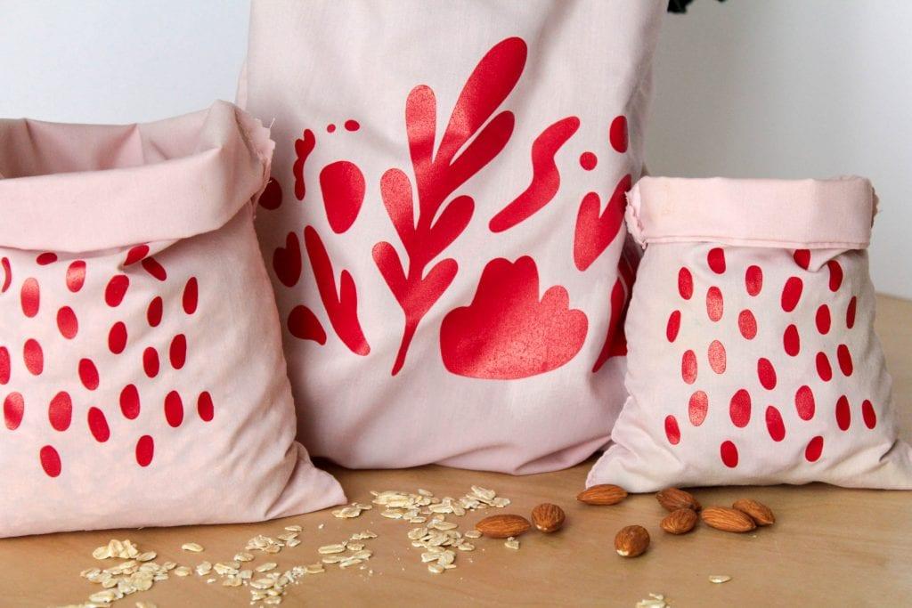 reusable, cloth bulk bags