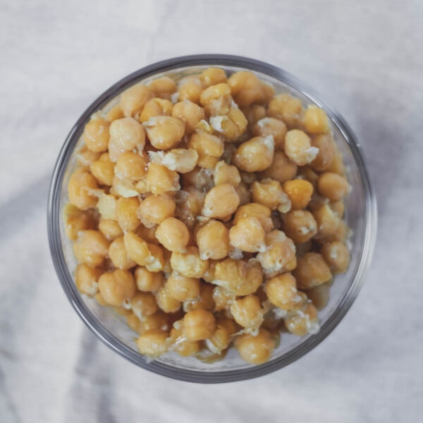 cooked chickpeas from scratch