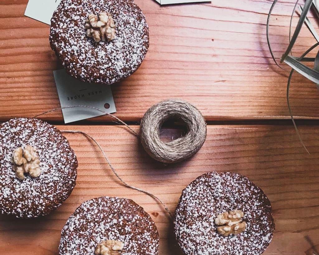 masa madre vegan cupcakes