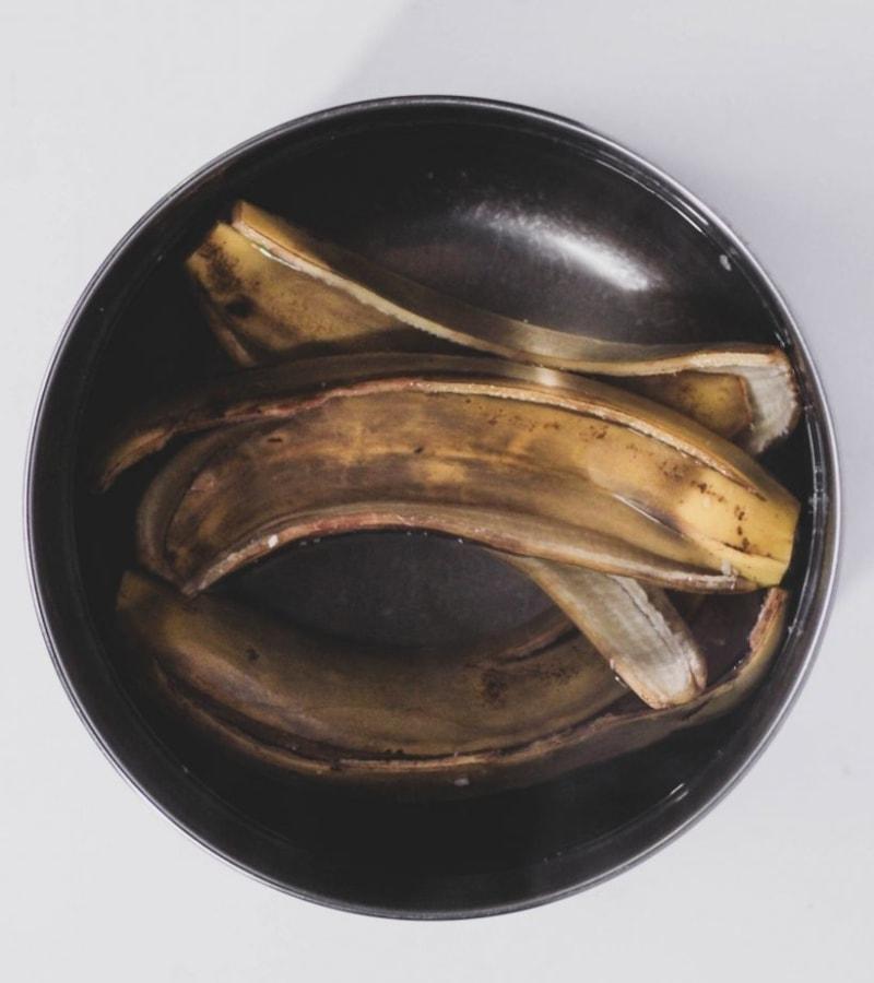 Banana Peels Soaking