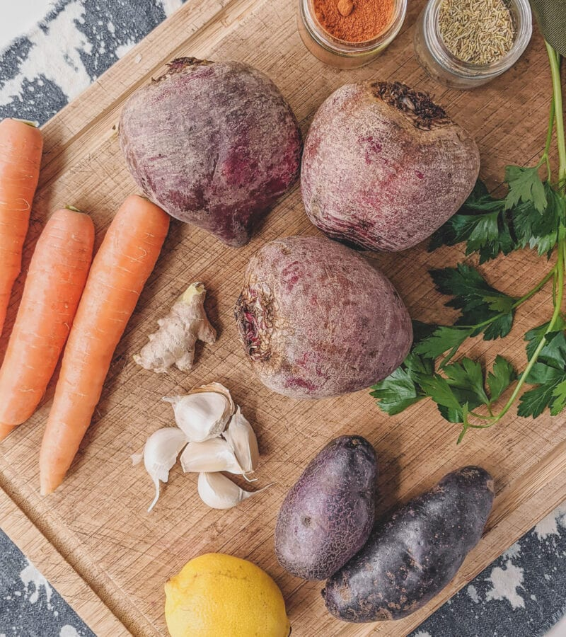 beet root soup ingredients