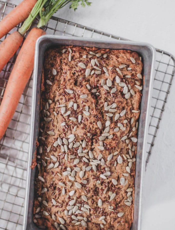 carrot cake banana bread Hawnuh Lee Closed Loop Cooking