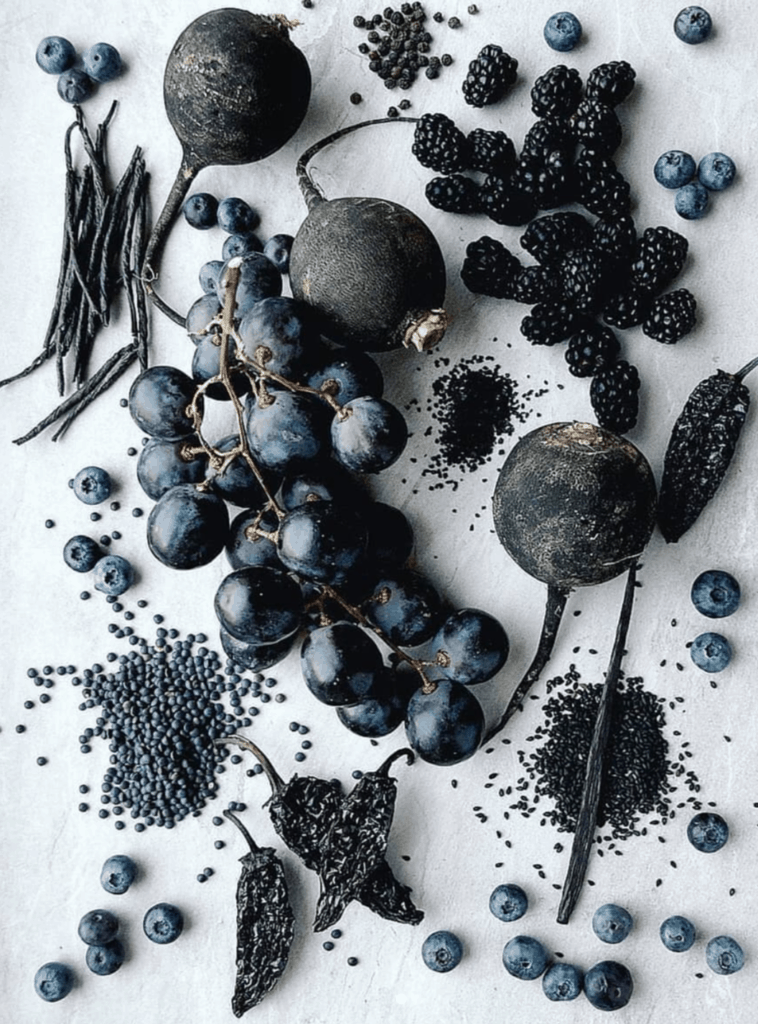 Conscious Cooking black produce