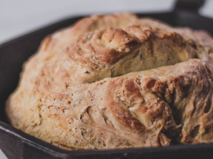 finex cast iron skillet bread