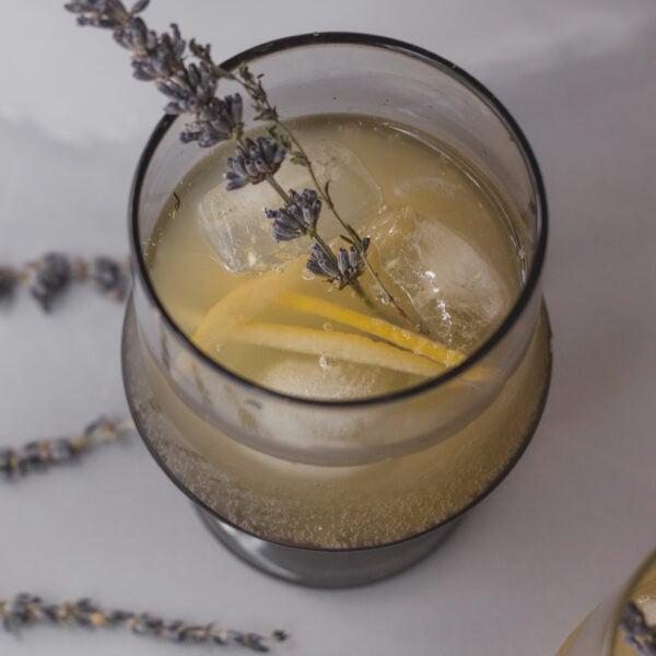 lavender lemon thyme soda