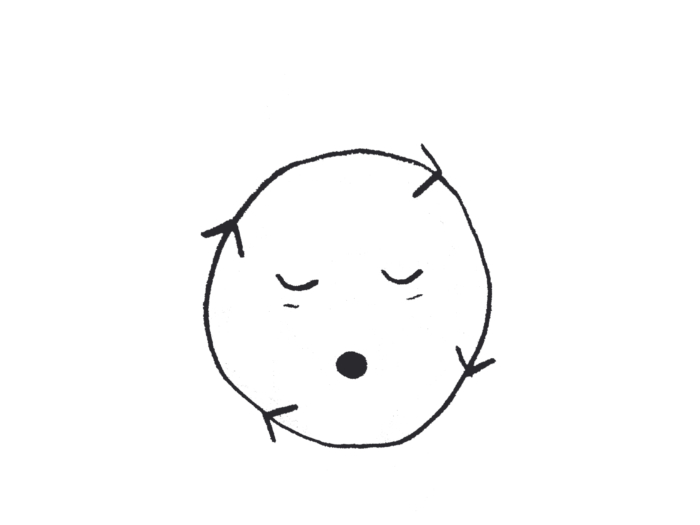 loop face illustration