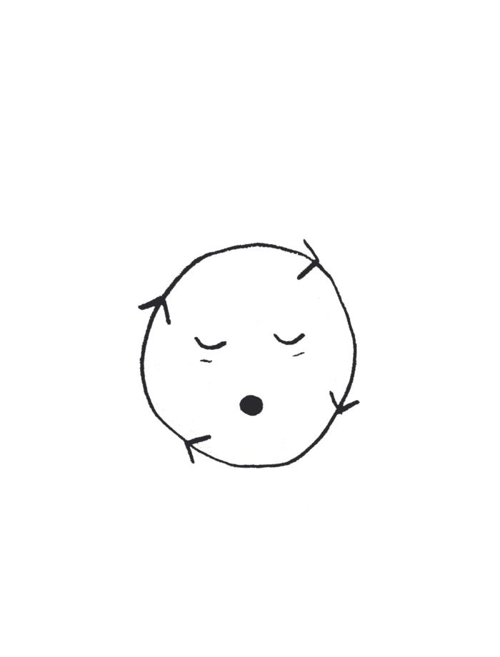 loop face illustration