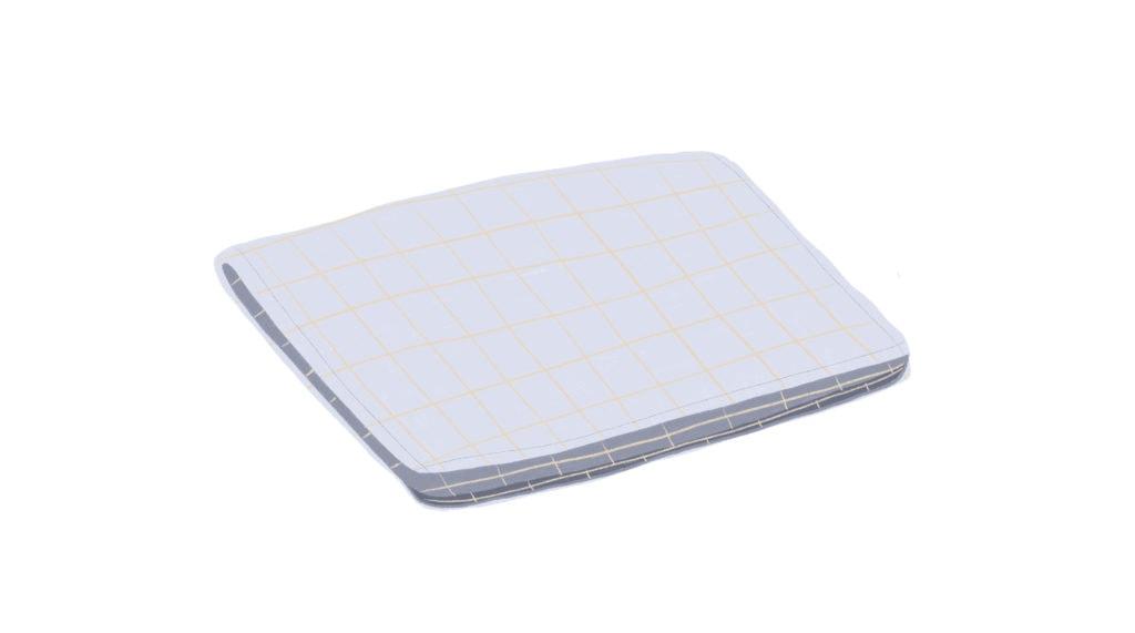linen dish towel illustration