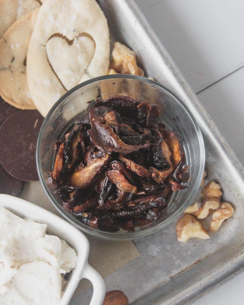 smokey baked mushrooms