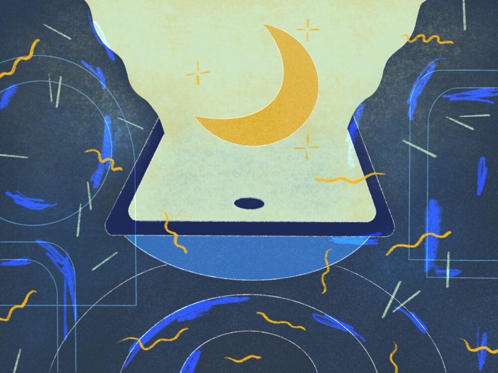 nighttime rituals illustration