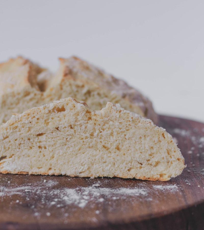 no yeast vegan bread loaf