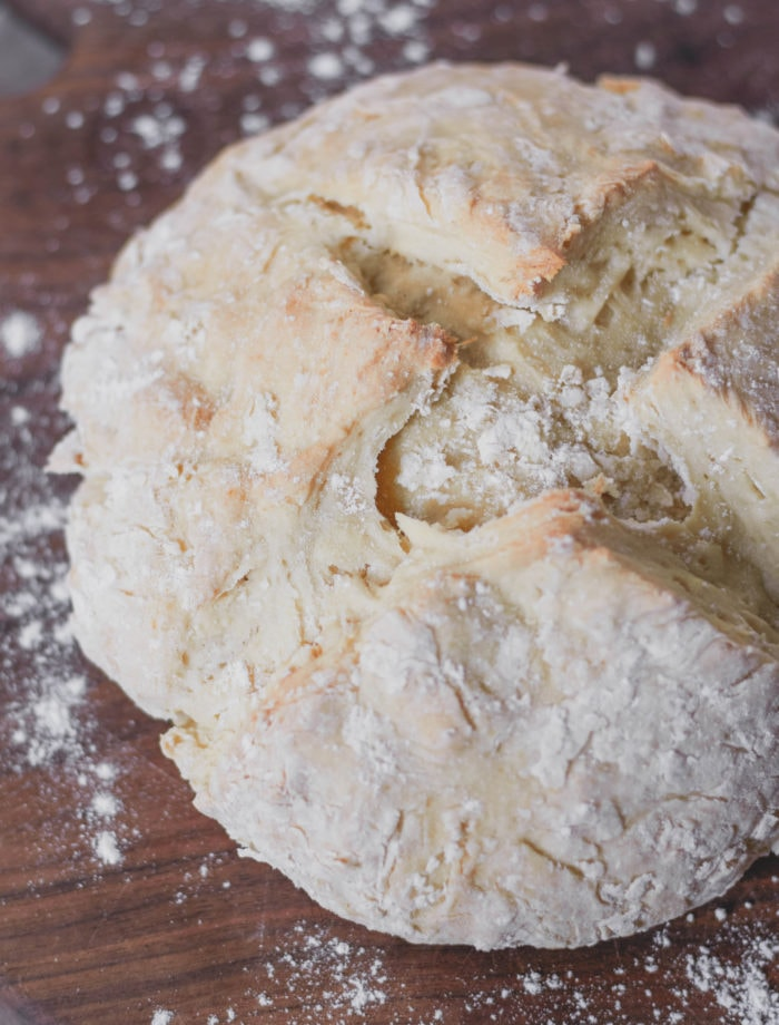 no yeast vegan bread loaf