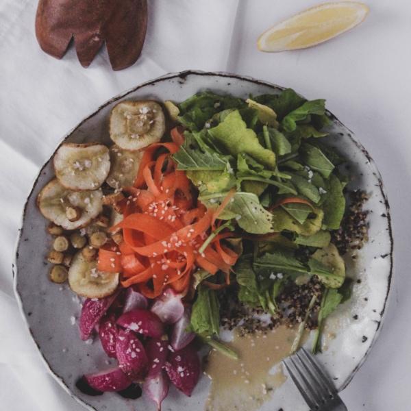 spring salad ingredients