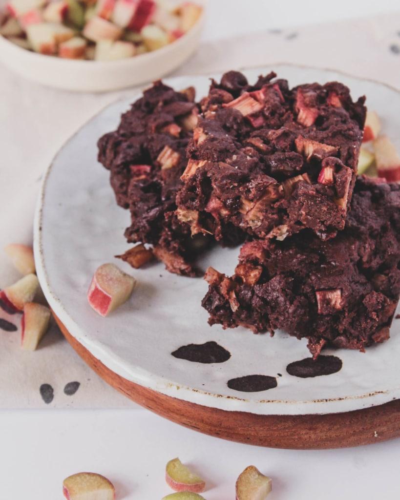 Rhubarb Brownies 3607 2
