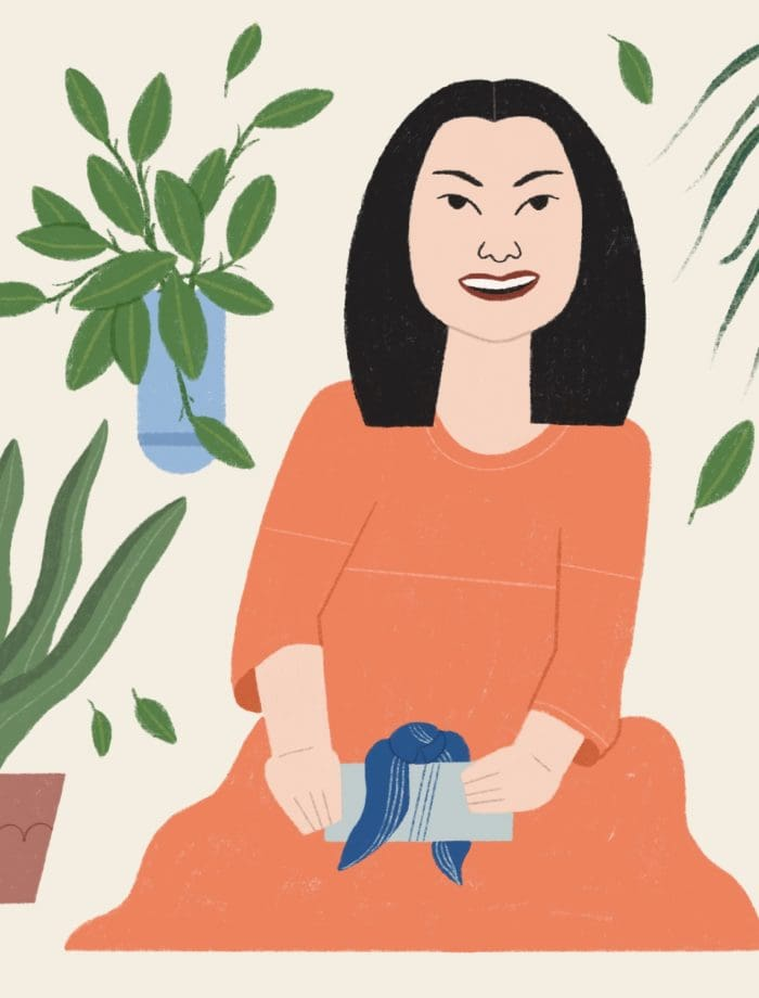 Sara Kiyo Popowa illustration by Hawnuh Lee