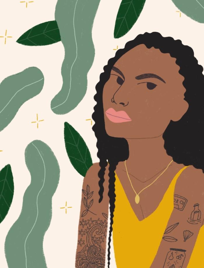 illustration of Sophia Roe