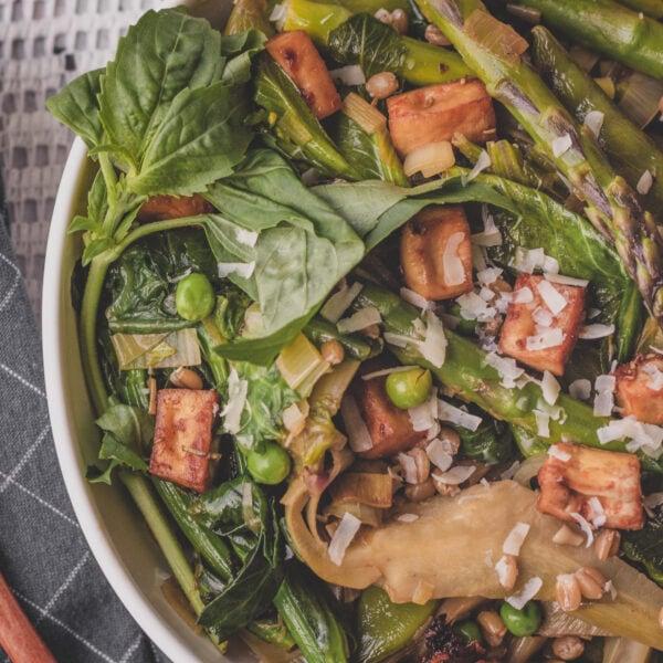 vignarola, spring stew